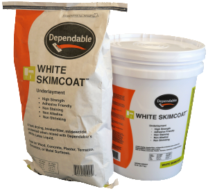 WHITE SKIMCOAT™ Bags
